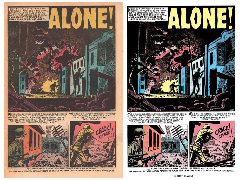 Atlas Comic restorations