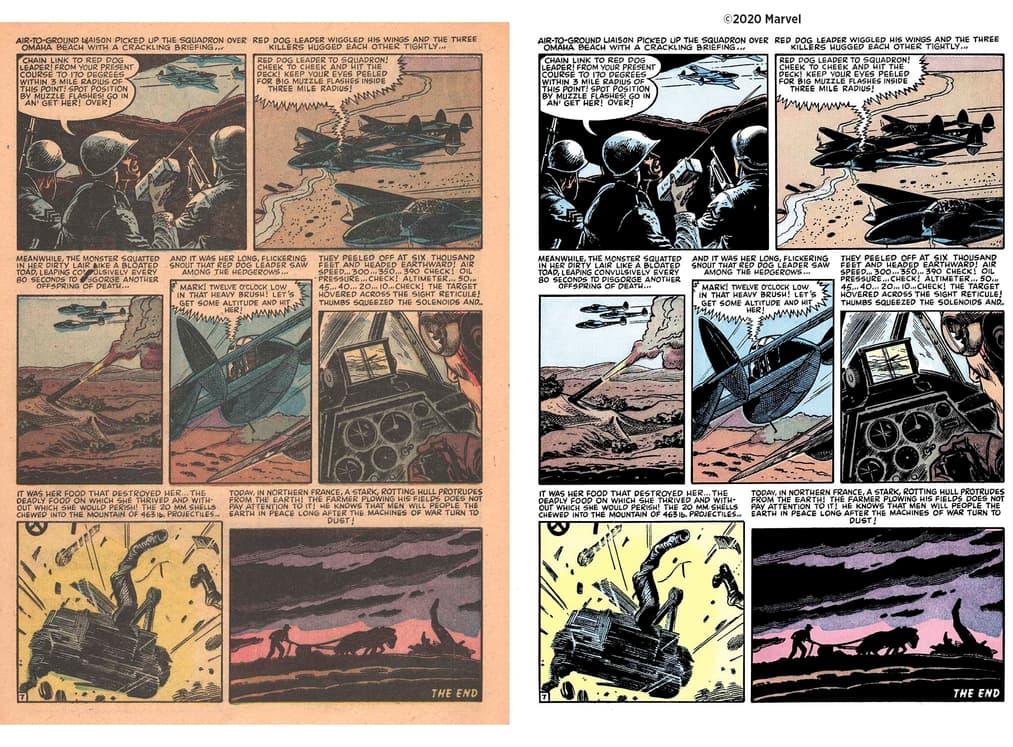 Atlas Comics restorations