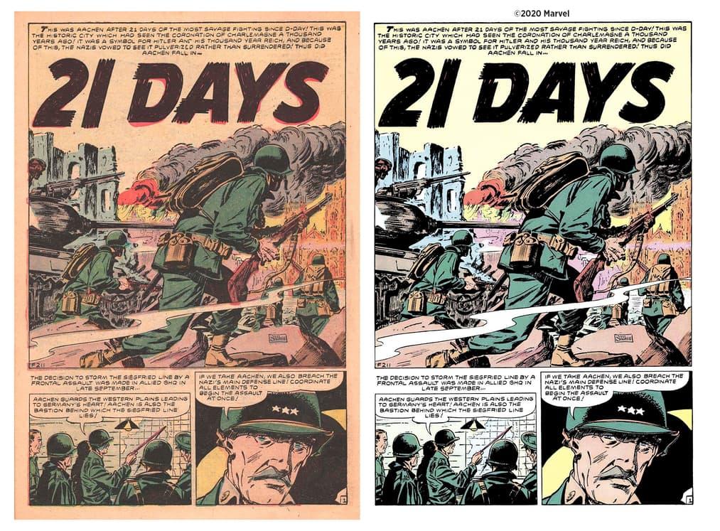 Atlas Comics restoration