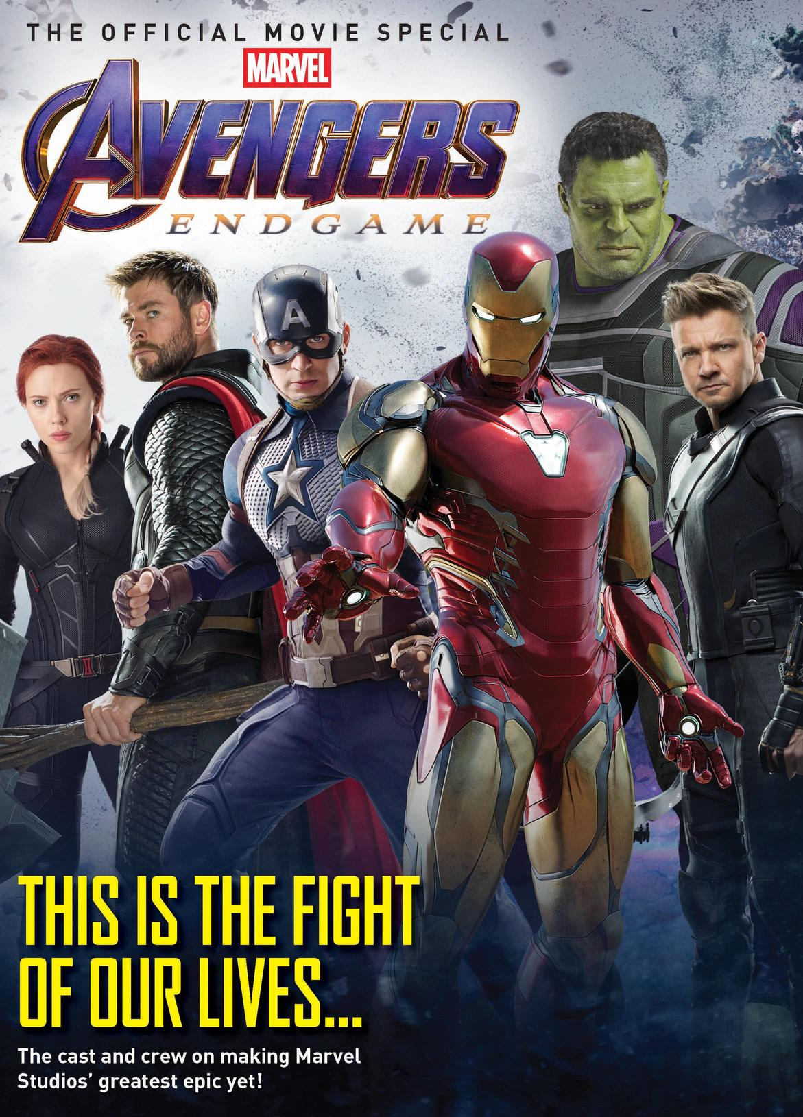 Newstand cover of Avengers Endgame Official Movie Special