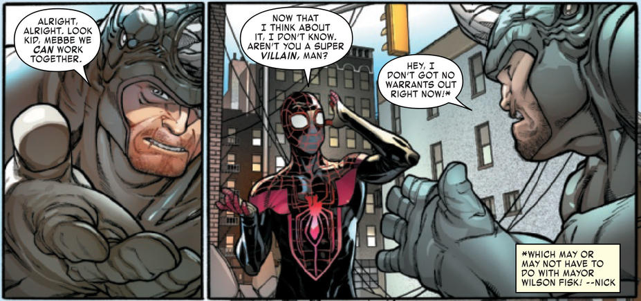 Rhino and Miles Morales