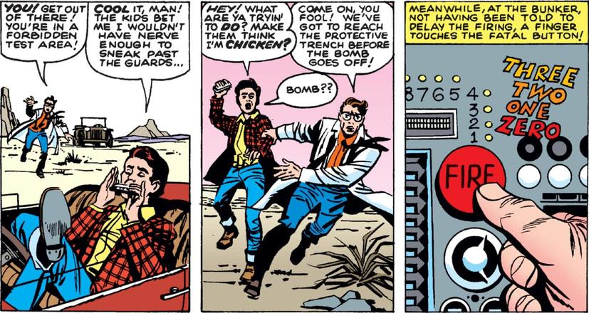 First Appearance of Rick Jones