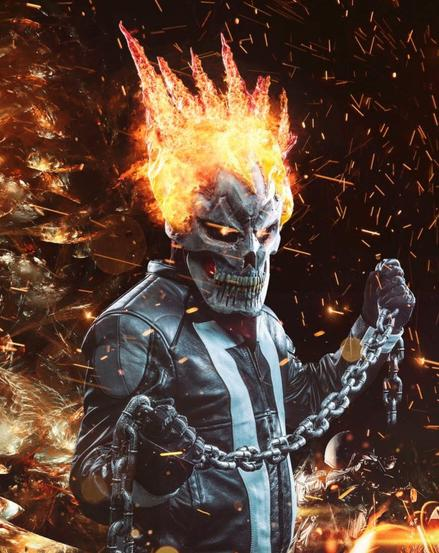 Rick Legendary as Ghost Rider