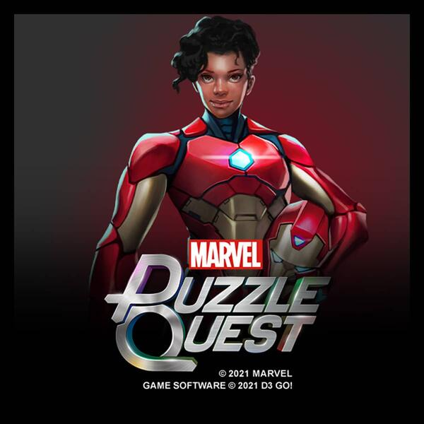 Marvel Puzzle Quest Riri Williams