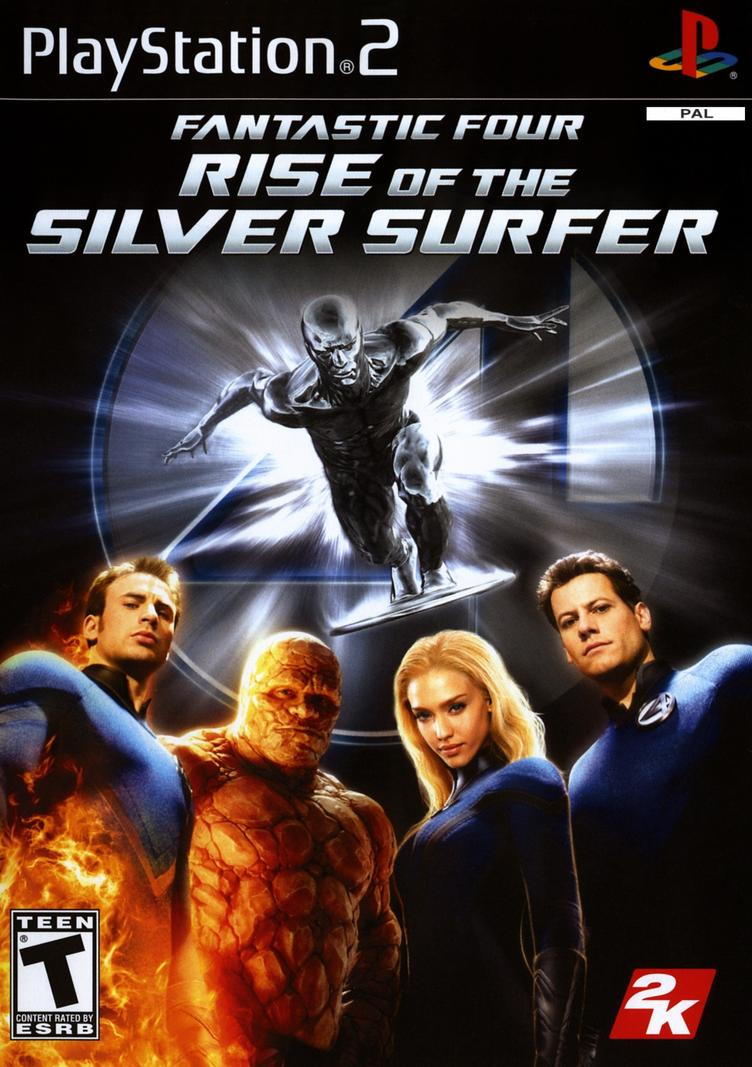 Fantastic Four: Rise of the Silver Surfer game