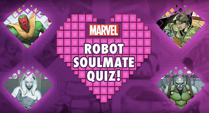 Marvel Robot Soulmate Quiz