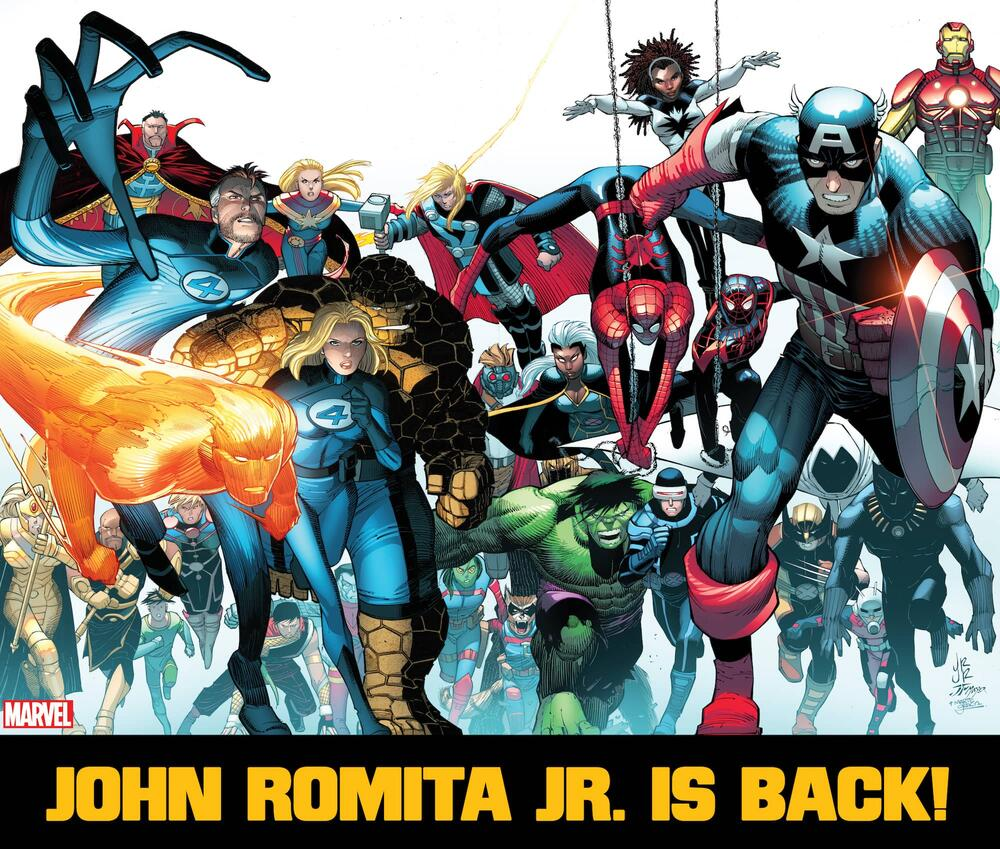 John Romita Jr. Is Back!