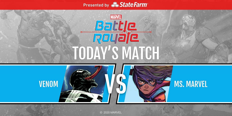 Marvel Battle Royale 2020 Round 2 Match 1 Venom vs. Ms. Marvel