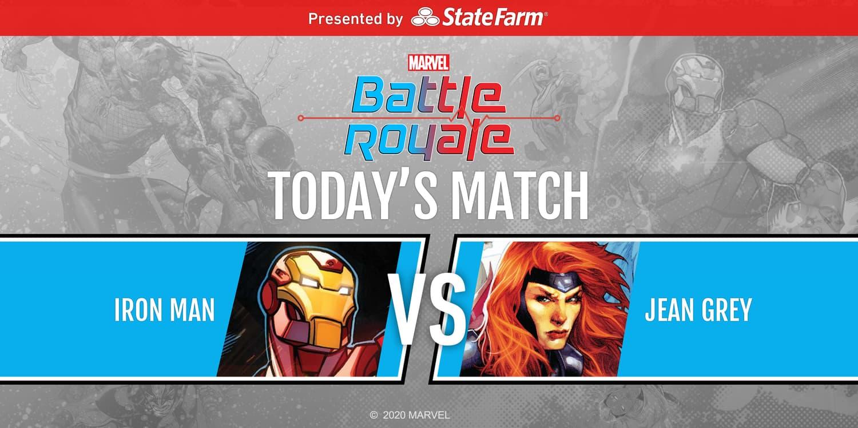 Marvel Battle Royale Round 2 Match 3 Iron Man vs. Jean Grey