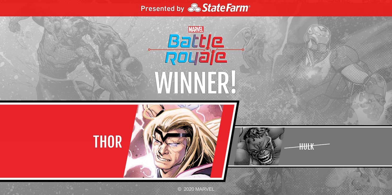 Marvel Battle Royale 2020 Round 2 Match 4 Thor Wins