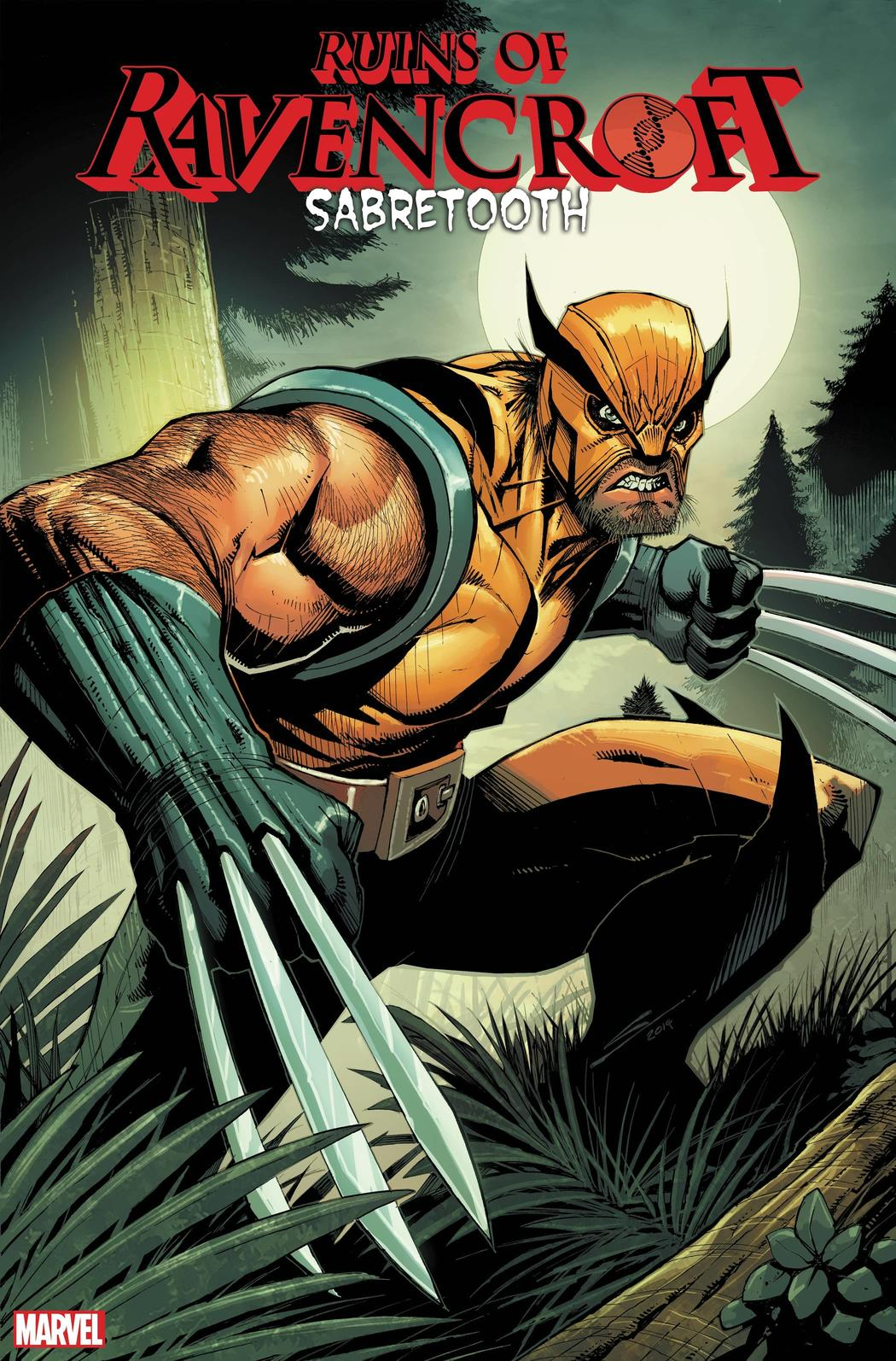 THE RUINS OF RAVENCROFT: SABRETOOTH #1