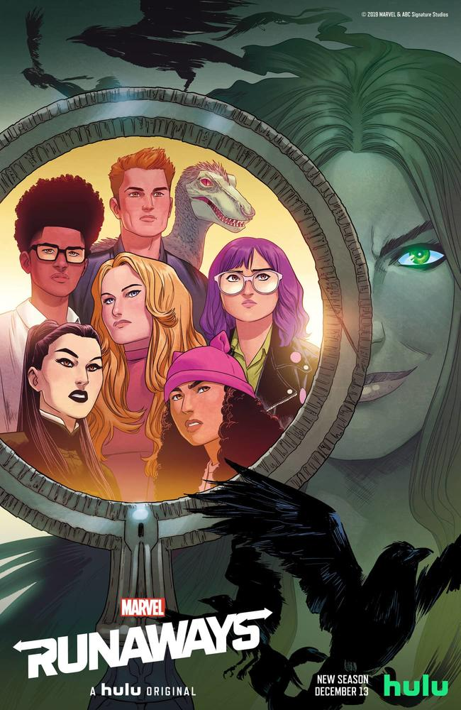 Runaways NYCC poster