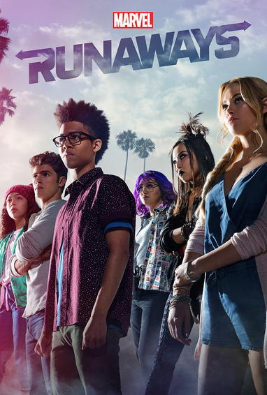 Marvel's Runaways TV Show Poster