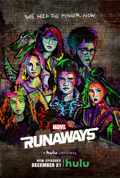 Marvel Runaways Season 2 Poster