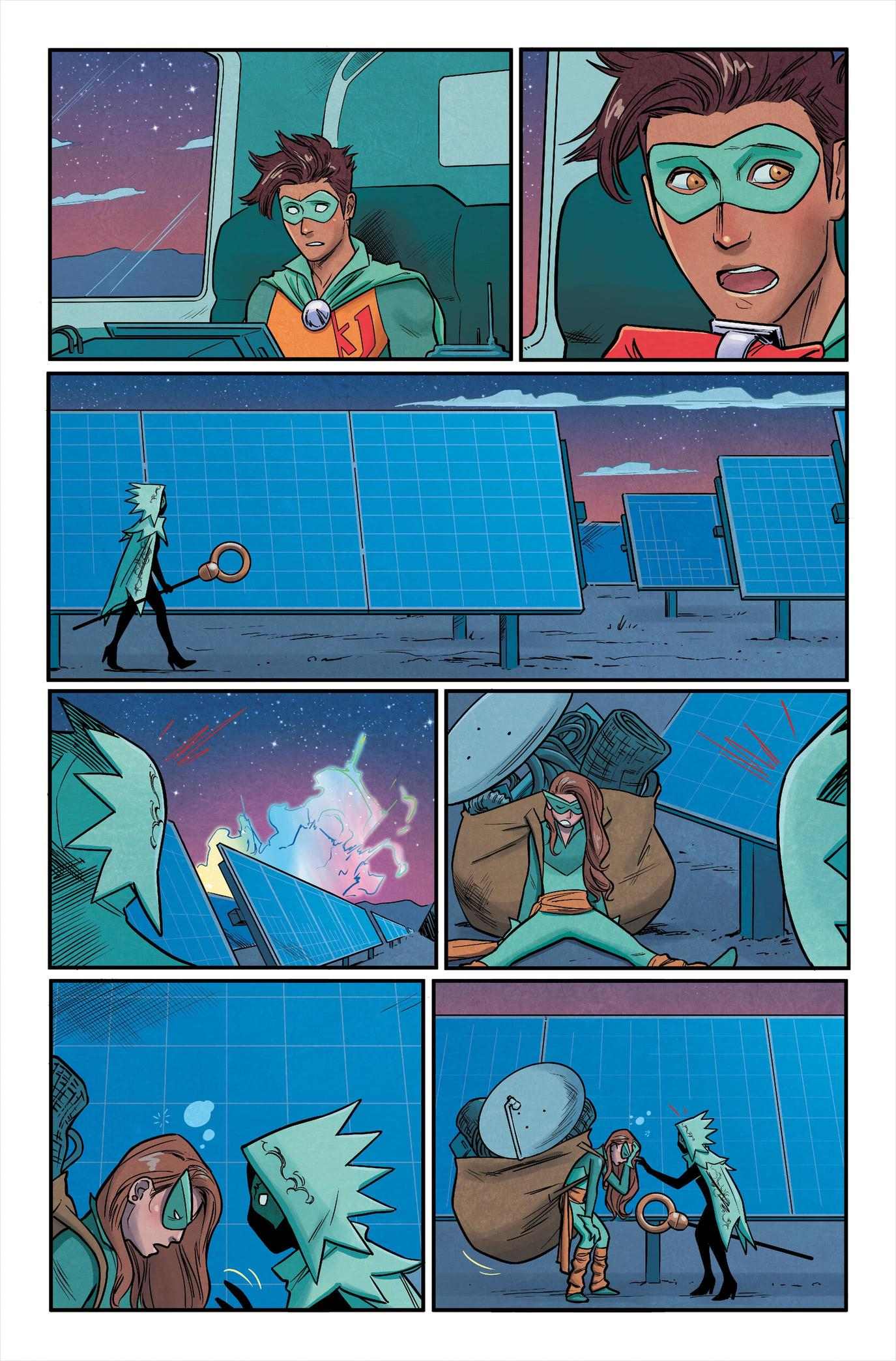 Runaways #31 preview page