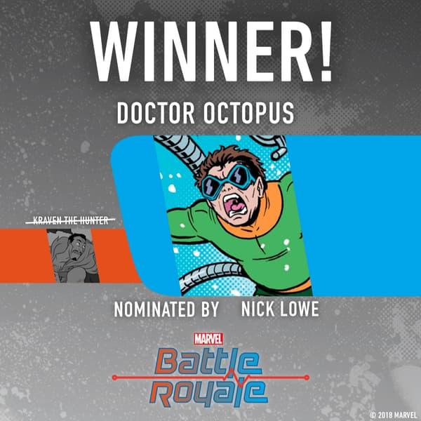 Marvel Battle Royale 2018 Doctor Octopus wins Round 2