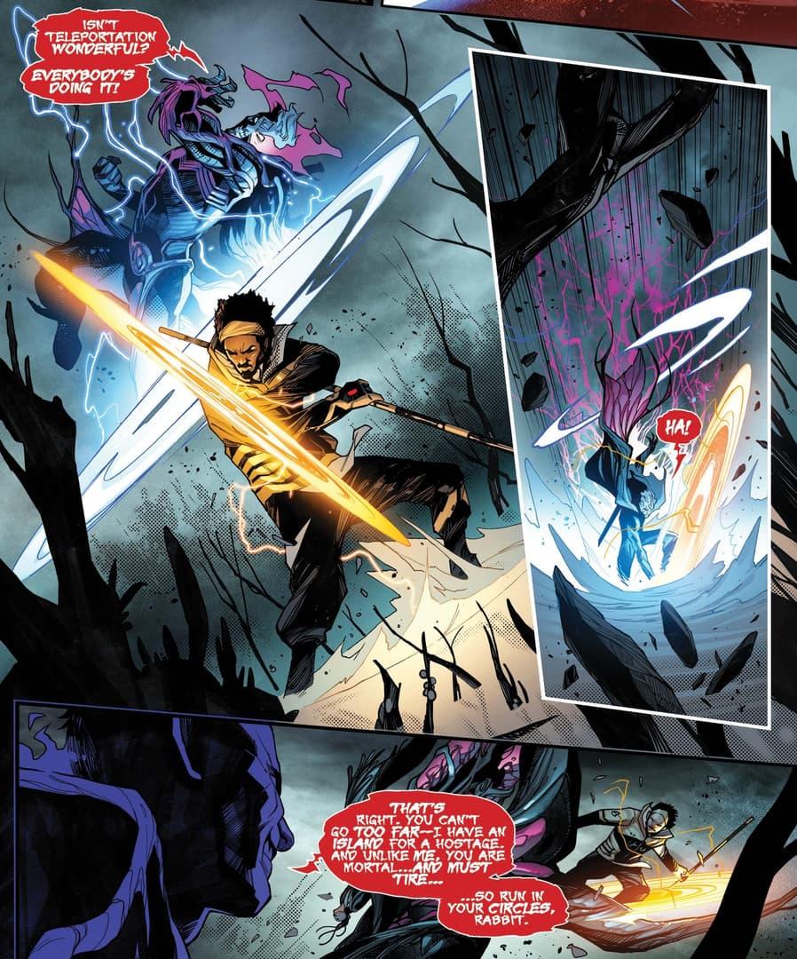 Manifold takes part in a portal battle in S.W.O.R.D. (2020) #4.