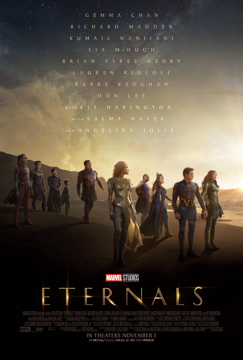 Marvel Studios' Eternals Payoff Poster