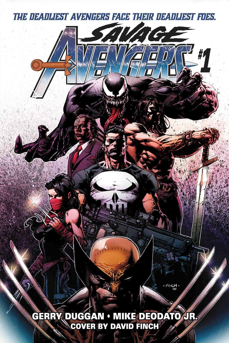 'Savage Avengers' #1