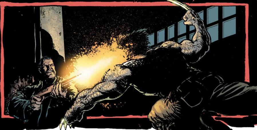 Punisher shoots Wolverine in the face
