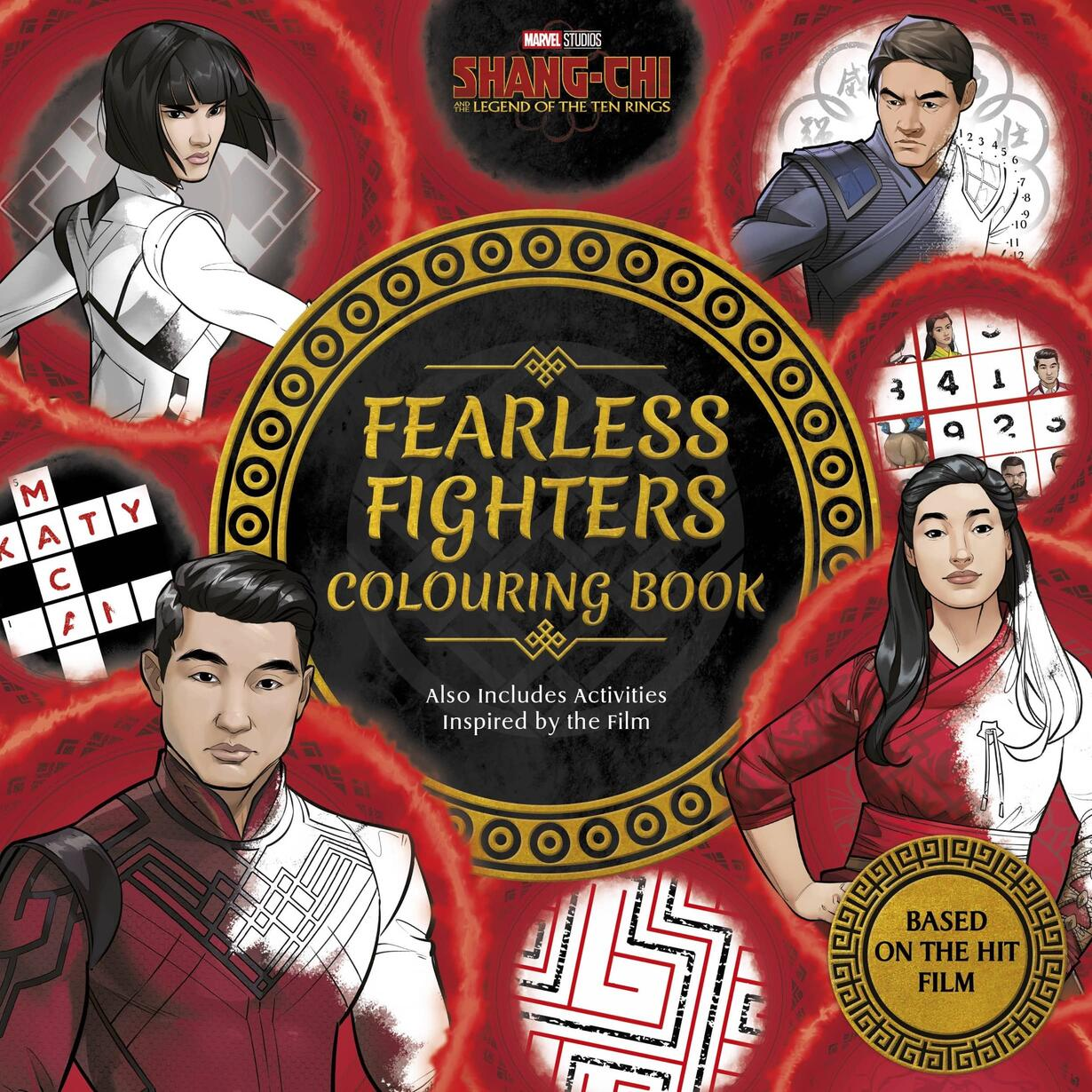 SHANG-CHI AND THE LEGEND OF THE TEN RINGS: FEARLESS FIGHTERS COLOURING BOOK