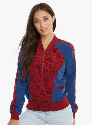 Spider-Man Bomber Jacket