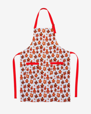 Gingerbread Heroes Apron