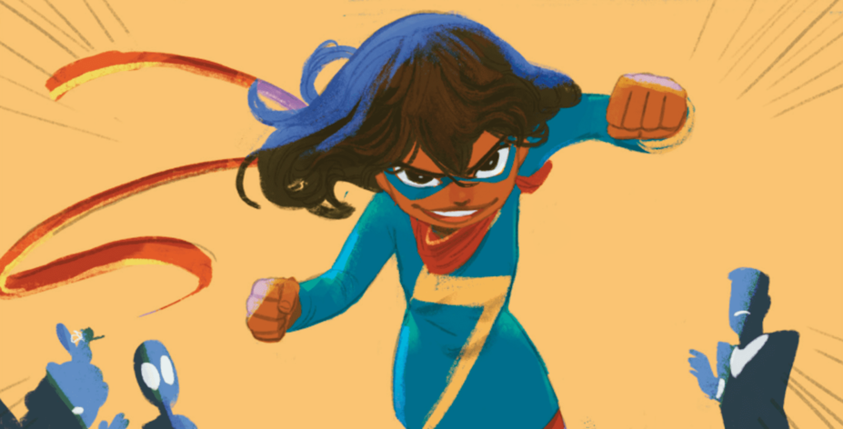 Ms. Marvel: Stretched Thin interior panel