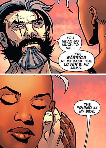 Wolverine & Storm