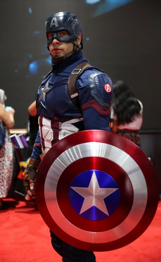 SDCC 2019 Captain America