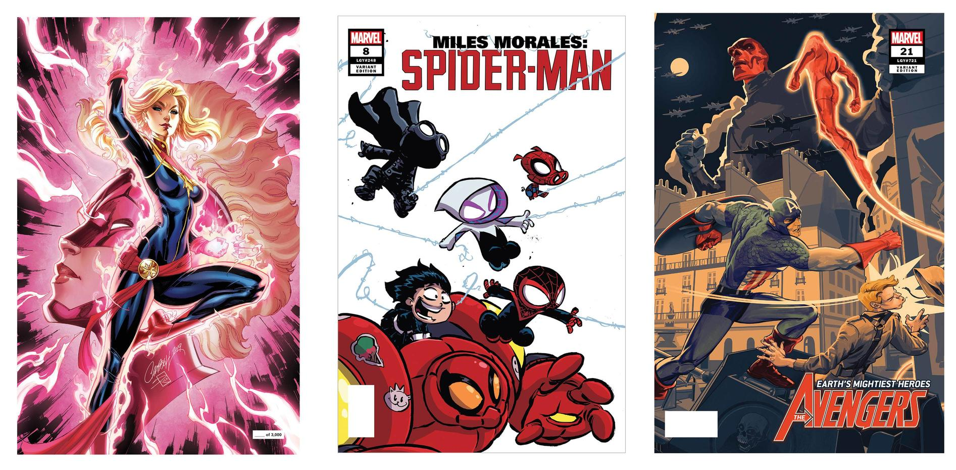 SDCC 2019 Marvel Variants