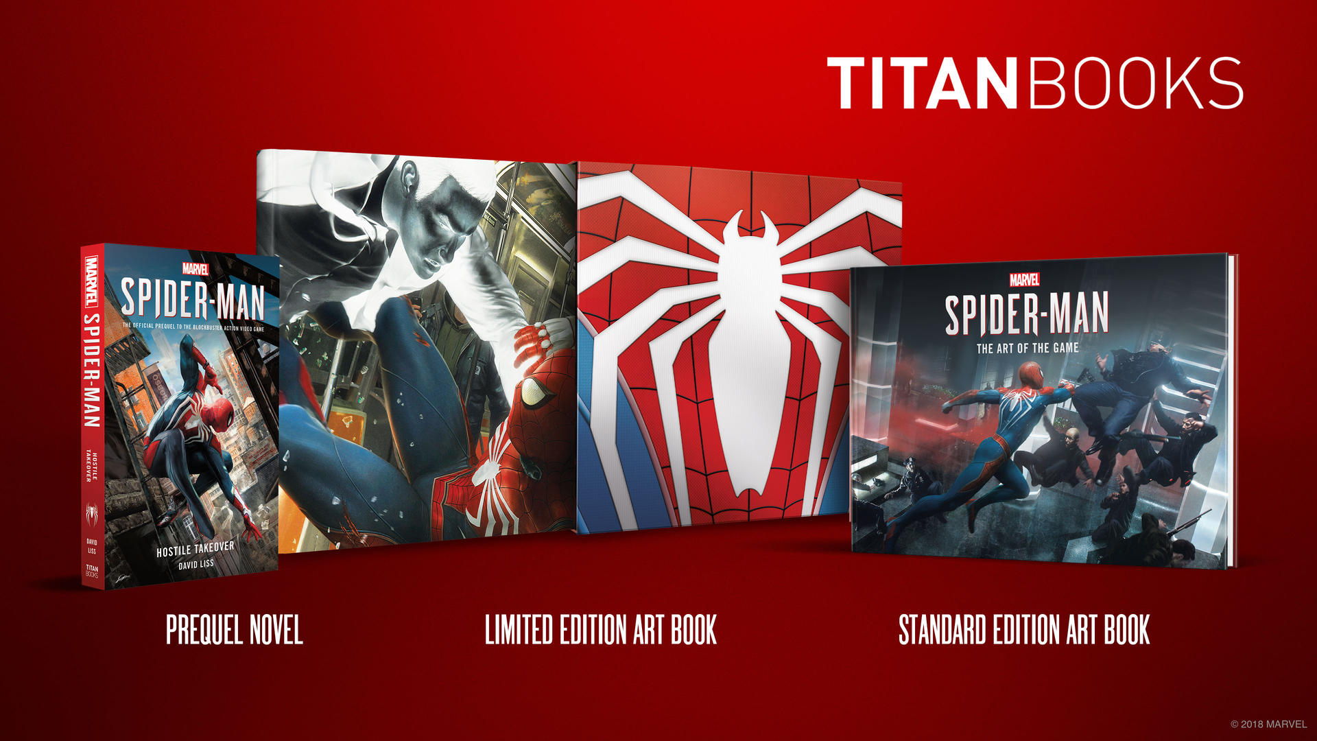 Marvel's Spider-Man Titan Books
