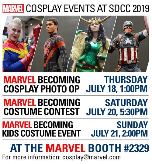 SDCC 2019 cosplay