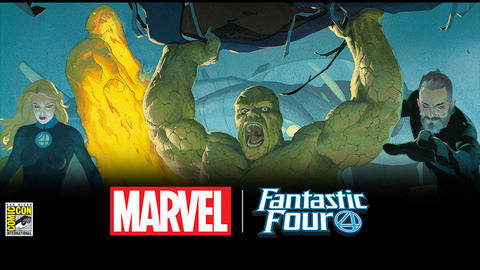 SDCC Fantastic Four image