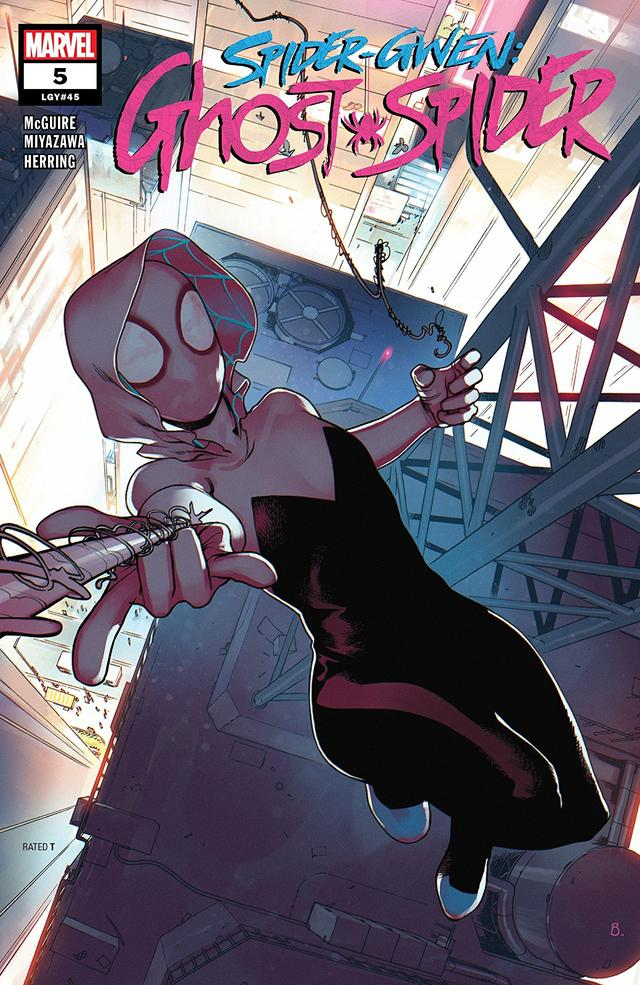 Cover of Spider-Gwen Ghost Spider #5