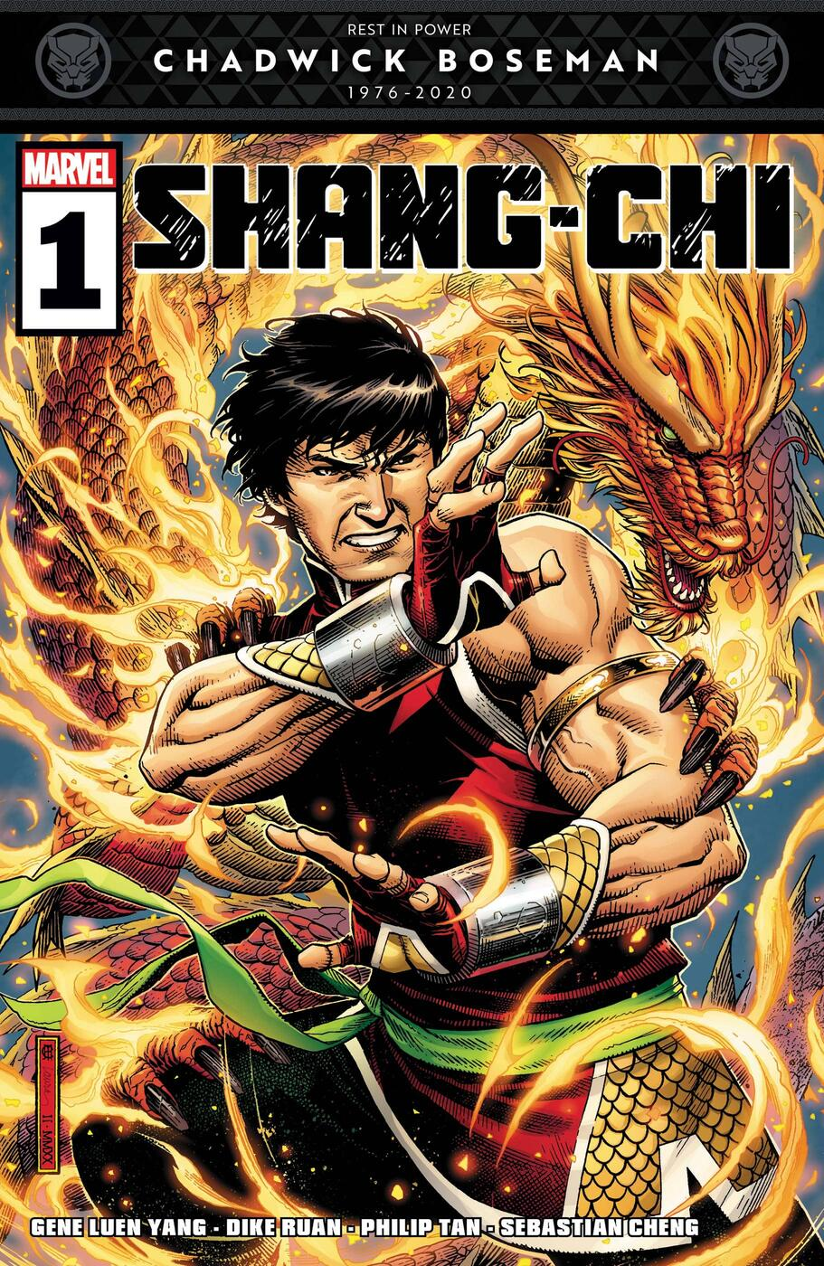 Cover to Shang-Chi (2020) #1