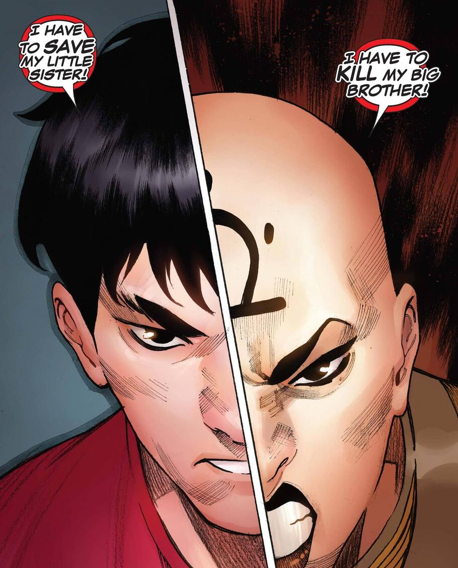 Shang-Chi versus his sister!