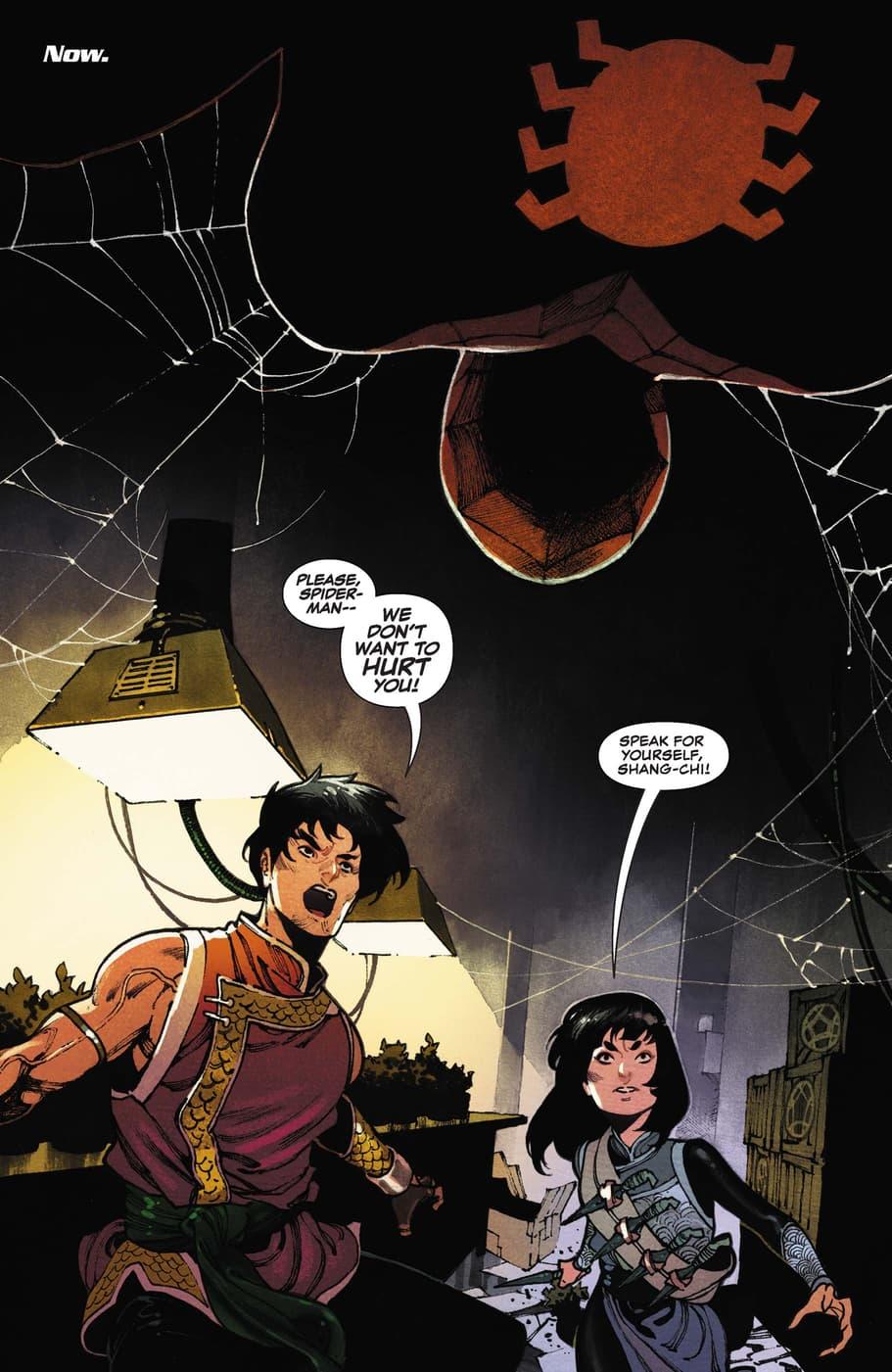 Shang-Chi versus Spider-Man!