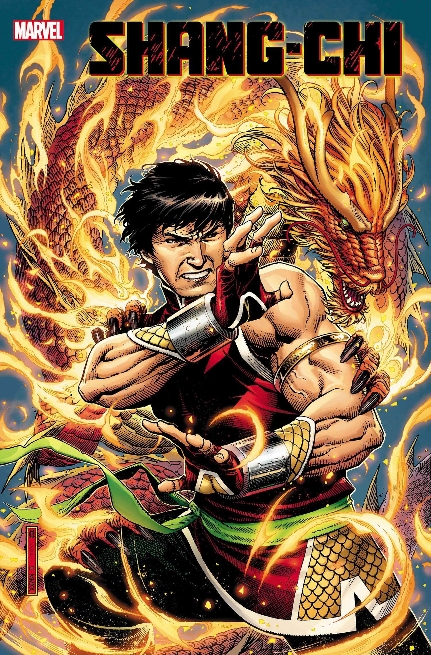 SHANG-CHI #1 cover by Jim Cheung