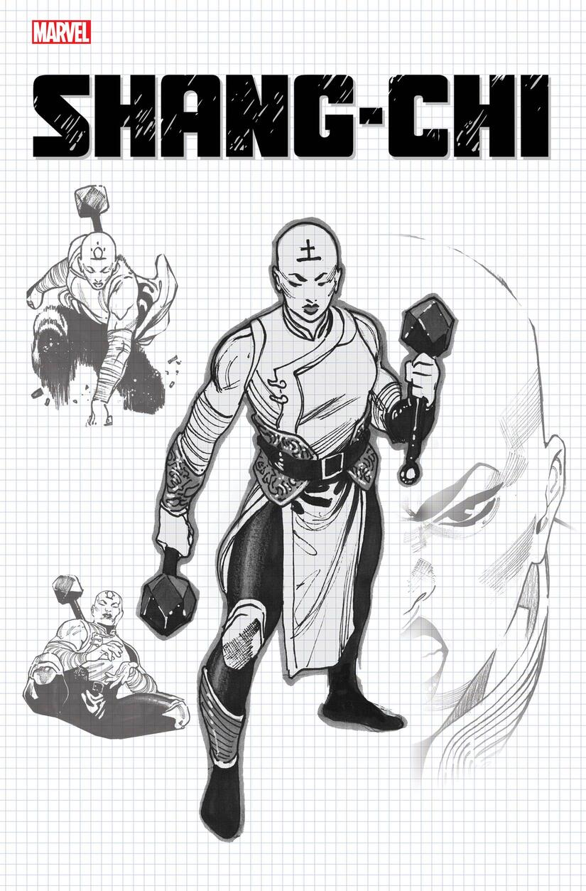 Dike Ruan's second printing sketch variant