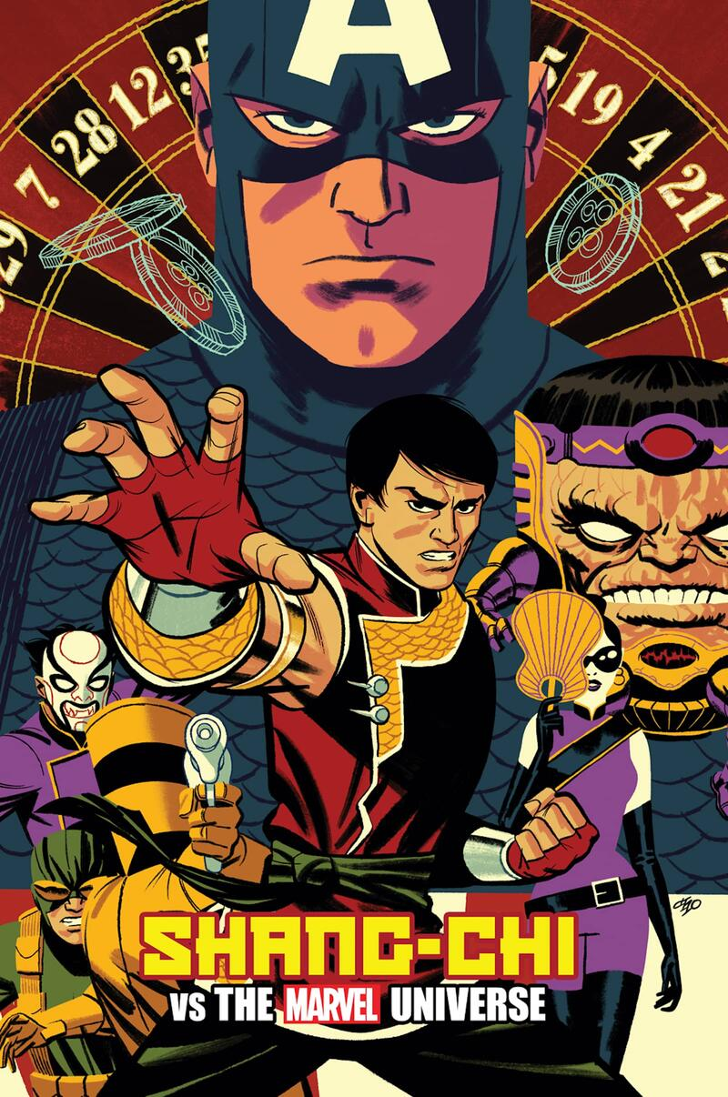 Shang-Chi #2 Variant Cover by Michael Cho