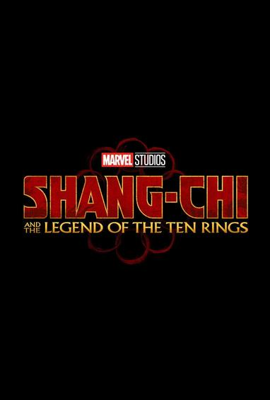 Shang-Chi and the Legend of the Ten Rings Movie Logo on Black