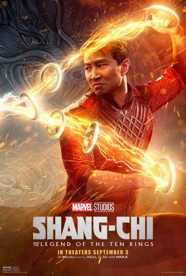 Marvel Studios' Shang-Chi and The Legend of The Ten Rings Movie Poster