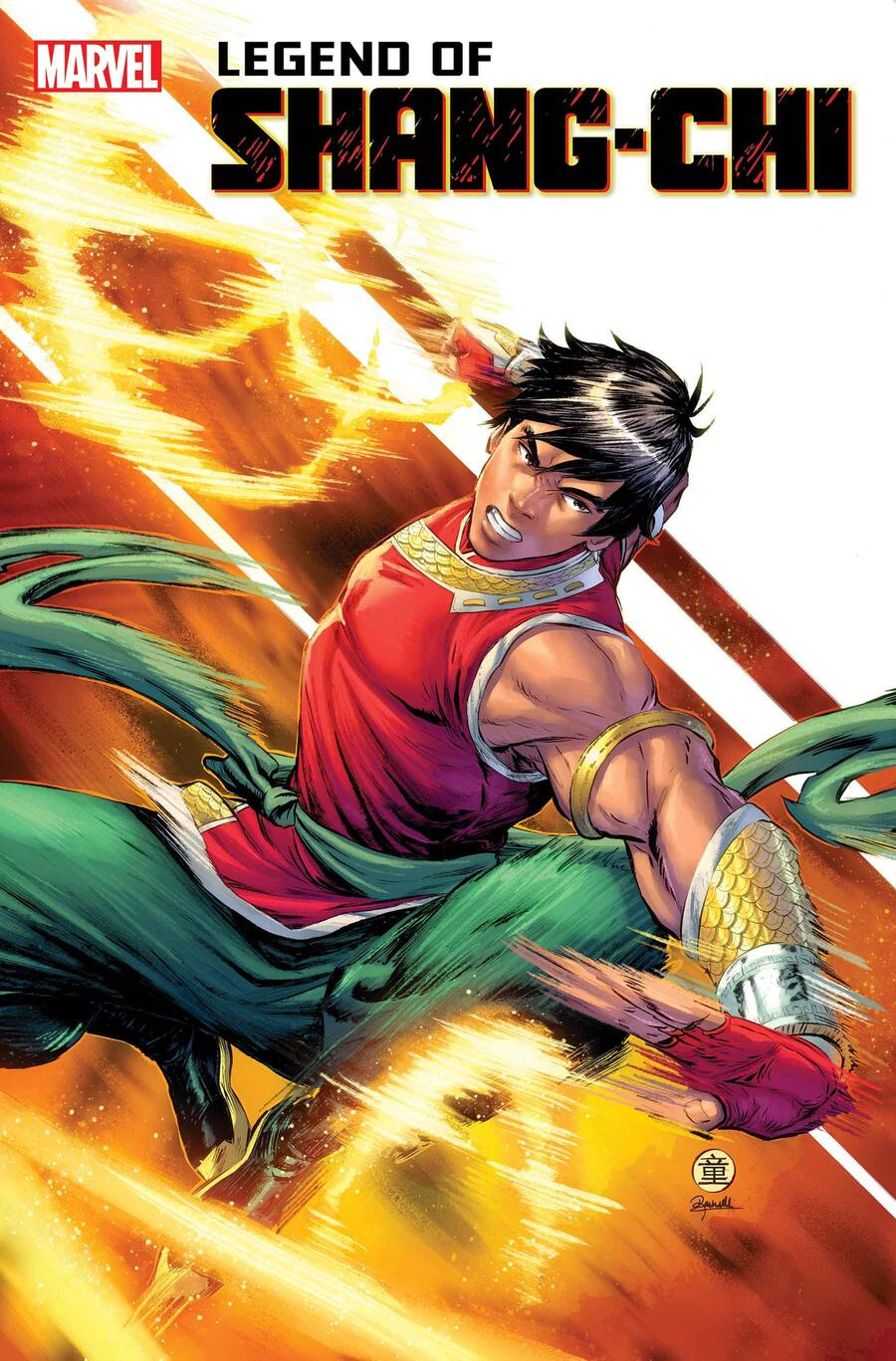 LEGEND OF SHANG-CHI #1 cover by Andie Tong