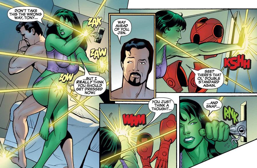 She-Hulk and Tony
