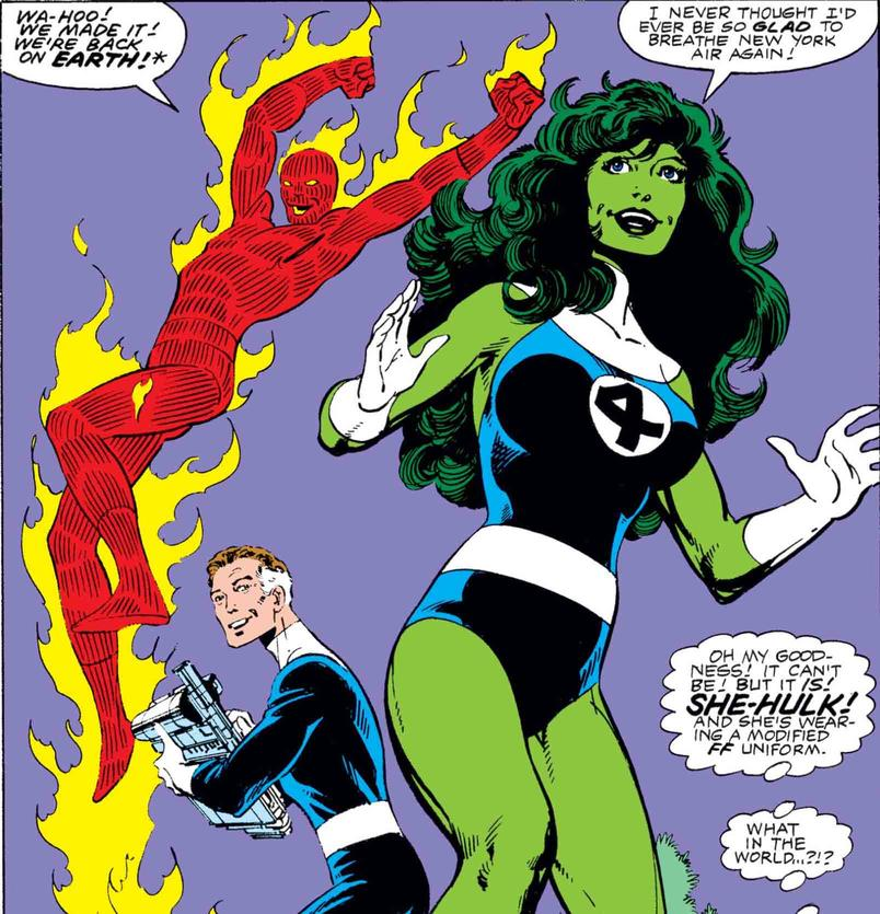She-Hulk joins the Fantastic Four