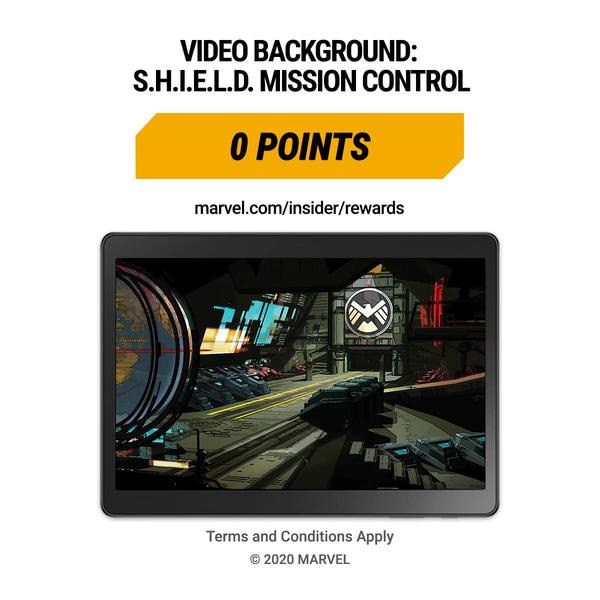 Marvel Insider Featured Rewards S.H.I.E.L.D. Mission Control Free Video Call Background
