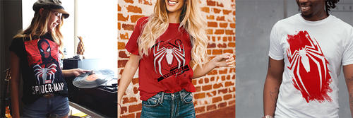 """Marvel's Spider-Man"" Marvel Gamerverse T-Shirts by Fifth Sun"