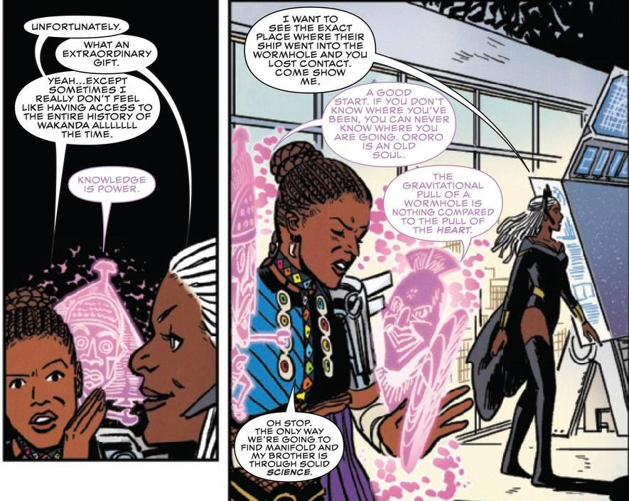 Shuri and Storm