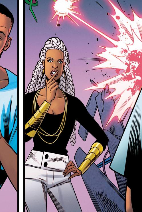 SHURI #9 Interior art by Rachel Stott and Carlos Lopez